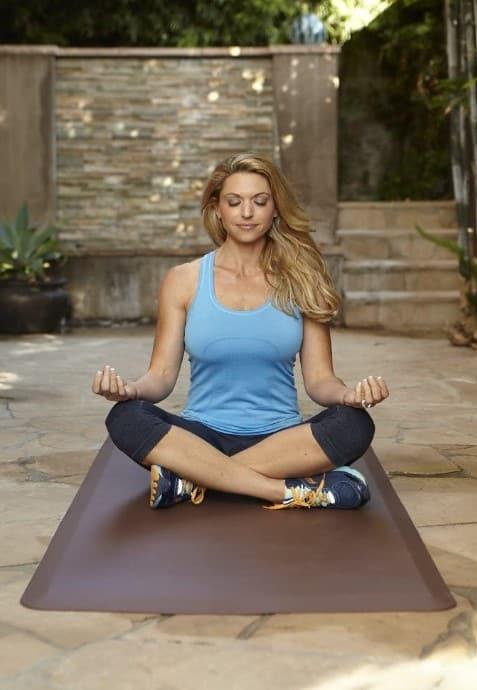 Ironcompany.com WellnessMats FitnessMat USA-Made Premium Exercise Mat