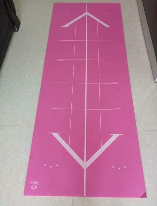 Yeske Oversize, Thick Yoga mat. Extra Wide and Long
